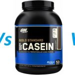 Protein vs whey isolate