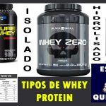 Whey protein tipos