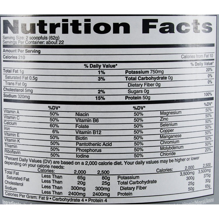 Whey protein 3 lbs